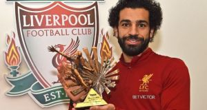 Mohammad salah wins bbc african player of the year 2017
