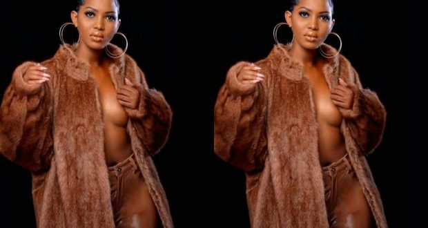 Spice Diana Unveiled Her Nude Boobs To Horny Men