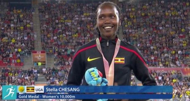 Stella Chesang Won The 2nd 2018 Golden Medal For Uganda