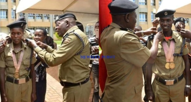 Uganda Police Promoted Common Wealth Participants With Ranks