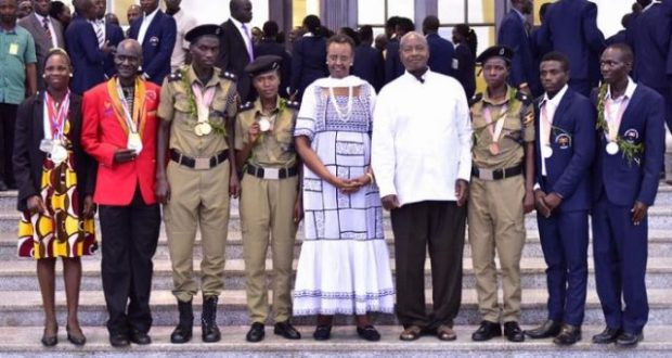 Museveni to build houses for chesang and cheptegei