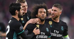 Madrid beat bayern