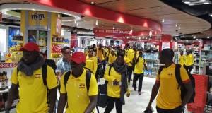 Uganda to arrive today
