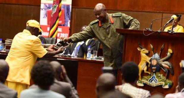 museveni is sad aboy abiriga's death