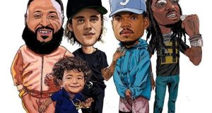 DJ Khaled Featuring Justin Bieber, Quavo And Chance The Rapper – No Brainer