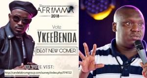 Patrick Salvador Asks For Votes On Behalf Of Singer YKee Benda