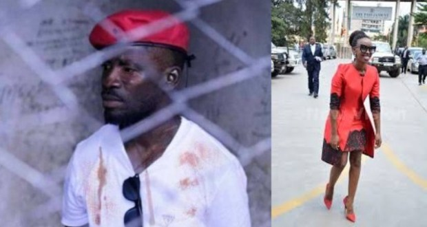 Barbie Kyagulanyi Was At-last Allowed To Meet Bobi Wine