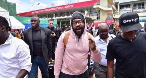 Tarrus Riley Already In Kampala