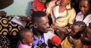 bobi wine and kawuma family