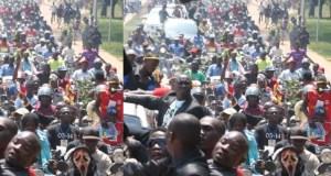 Ugandans On The Entebbe Run Off