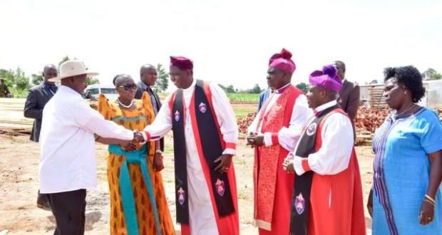 Museveni celebrates bishop James