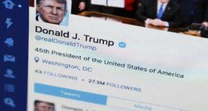 trump accuses twitter
