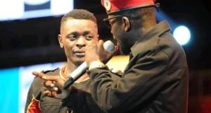 Bobi Wine and Jose chameleone