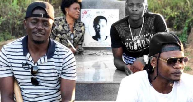 Jose Chameleone And Mayanja Family Visit AK47's Grave