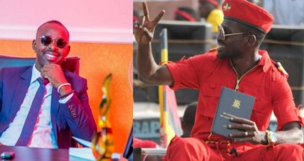 Bobi Wine and Kenzo