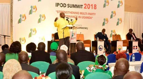 MUSEVENI AT IPOD SUMMIT