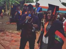Daxx Vibes Sent Congrats To Graduants At Makerere University