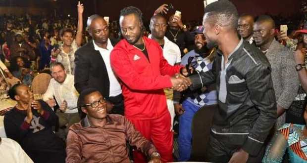 bebe cool and Bobi Wine