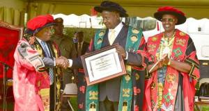 Museveni at makerere