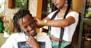 Anne Kansiime Addicted With Touches To Her Man Anywhere