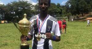 Bebe Cool's Son Alpha Won As The Best Player Of Mengo Cup Tournament