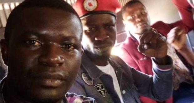 Bobi Wine Joins Hands For A Peaceful Demonstration