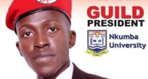Bryon Luswata Chosen As Nkumba University's Guild President
