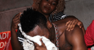 Diamond Platnumz Cries After Zari