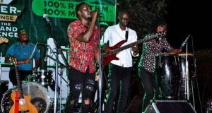 Janzi Band Entertained Revelers At Tropix Bar Kyaliwajjala