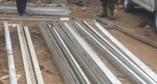 police recovers stolen electricity lines