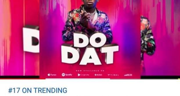 John Blaq's New Song 'Do Dat' Trending On Youtube