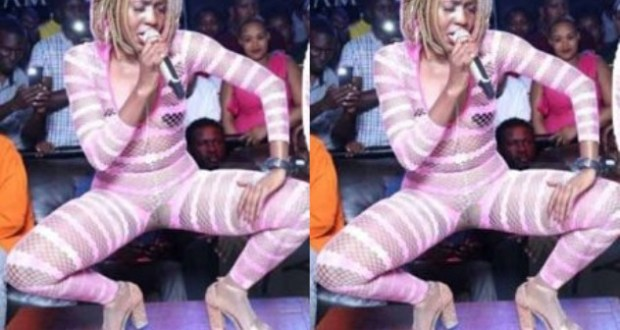 Karole Kasita's Attire Tore Up On Stage