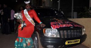 Miss Curvy Cries Over Failure To Get Her Car Prize