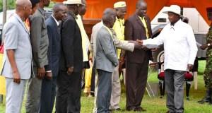 president museveni meets karamoja leaders