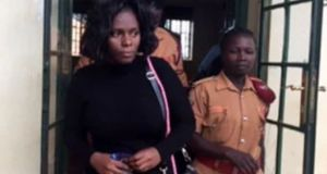 woman killed husband