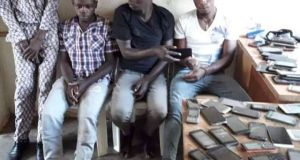 Uganda Police Arrests Phone Grabbers In Kyaliwajjala-Namugongo