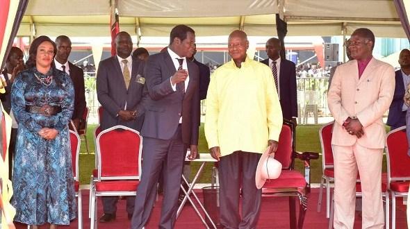 Museveni and pastors