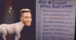 "APass Drops A Full List Of ""Love Nigga Busemyekozo"" , Check It Out"