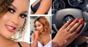 Hamisa Mobetto No-longer On A Searching List, Displays Off Her Ring