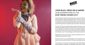 Karole Kasita Nominated At The Buzz Teeniez Awards 2019