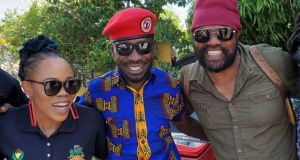 Bobi Wine Meets Toney Rebel And Queen Ifrika