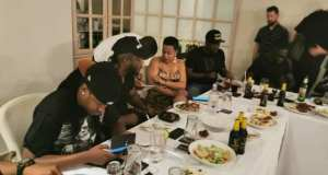 Bebe Cool and Dine with Rio