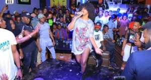 Sheebah Rocks A VIP Crowd With A Splendid Performance At 911 Lounge