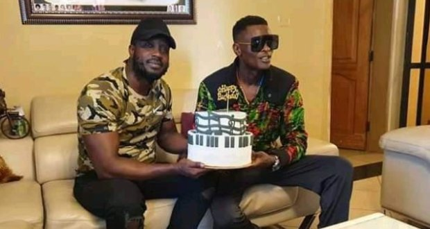 Bebe Cool Surprised Singer Chameleone With A Birthday Cake