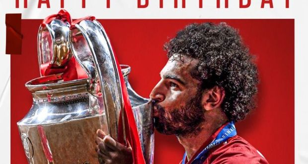 Liverpool FC Celebrates Mohamed Salah's Birthday