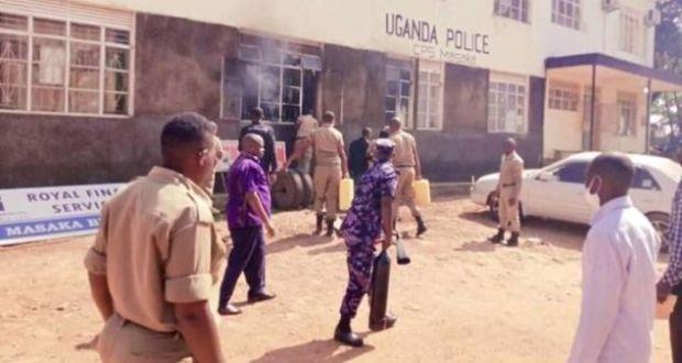 Boda Boda Cyclist Burns Himself To Death Inside Masaka Police Station