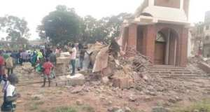 Police Arrests 11 Suspects Involved In Demolishing St. Peter's Church Ndeeba