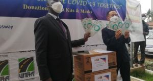 Korea Expressway Donates Items Worth 42,000 Dollars To Ministry Of Health