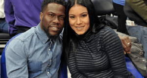 Kevin Hart and wife Eniko Hart