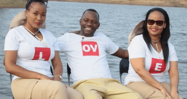 Polygamous Pastor Proudly Showing Off His 2 Wives